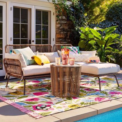 Picture of Fantino Patio Sectional Seating Set (Set of 3)