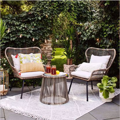 Picture of Fantino 3pc Patio Chat Set
