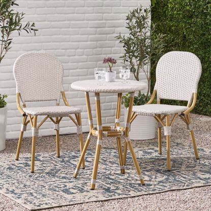 Picture of Sinayl French Patio Bistro Sets