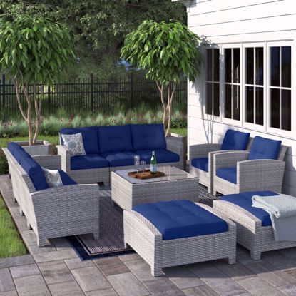 Picture of San Siro Sectional Seating Sets with Cushions